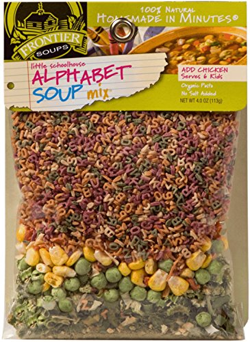 - Frontier Soups Homemade In Minutes Little Schoolhouse Alphabet Soup Mix -- 4 oz