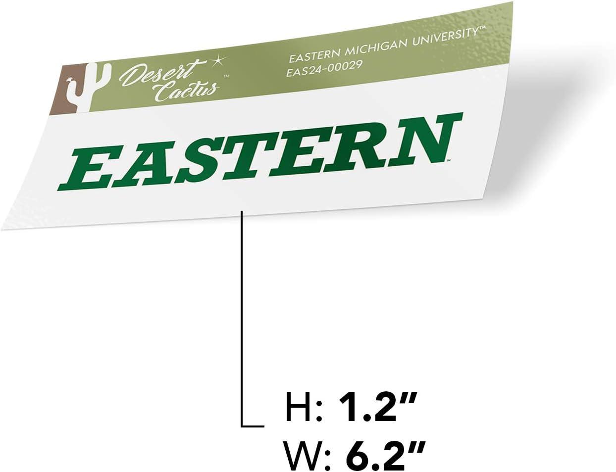 Eastern Michigan University EMU Eagles NCAA Vinyl Decal Laptop Water Bottle Car Scrapbook Sticker - 00029