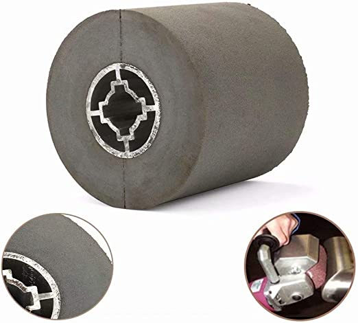 120 grit Silicon Carbide Abrasive Rubber Wheel