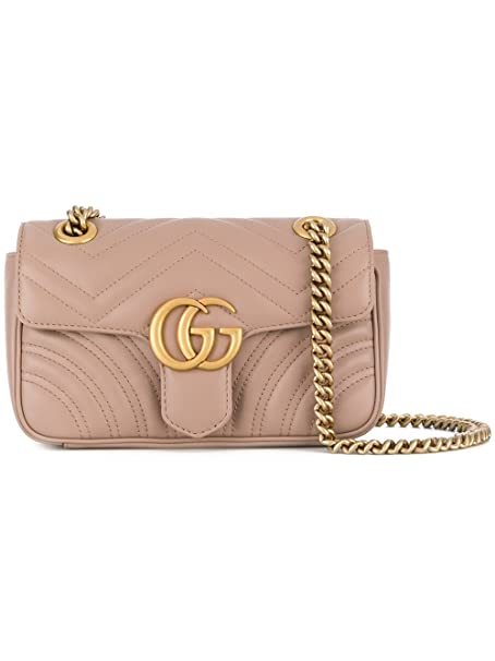 17b12d7863 Gucci Borsa A Spalla Donna 446744DTDID5729 Pelle Rosa: Amazon.it ...