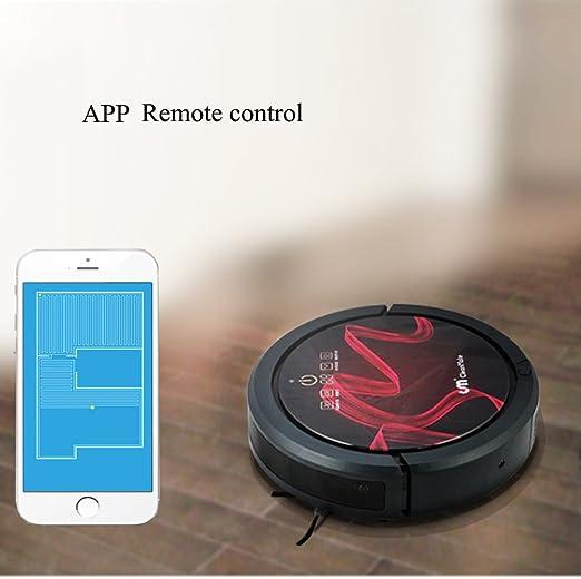 2017 Nuevo Modelo Robot aspirador QQ6 App WiFi mando a distancia ...