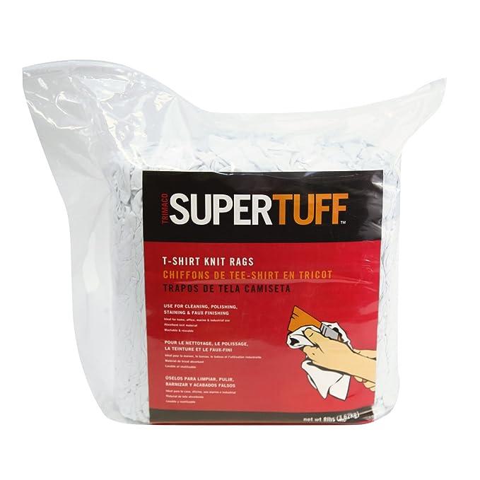 Trimaco SuperTuff T-Shirt Knit Painters Rags, 4lb mini-bale - - Amazon.com