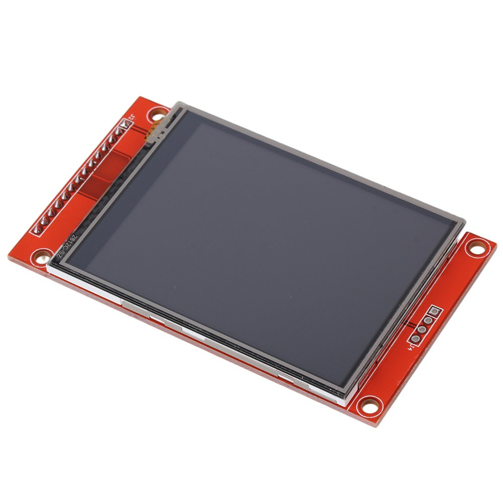 CNBTR Red 2.8 SPI TFT LCD Touch Panel Serial Port Module With PBC ILI9341 Support Serial SPI Mode yqltd CNBTR39