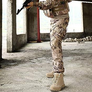 FCBDXN Herren Bewaffnet Taktik Stiefel Wüste Dschungel