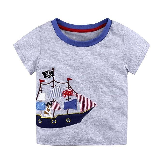 Amazon.com: leegor para bebé Niños Niños T camisas Tops ...