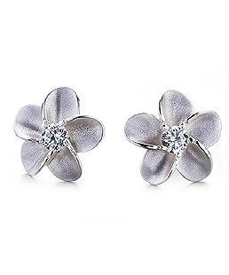 aloiness Boucles d'oreilles Cristal de forme de fleur vintage Bijoux Cadeau