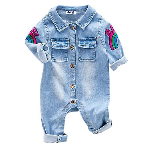 2 opinioni per MAOMAO Infantile Neonato | Carino | denim di cotone | Manica lunga |