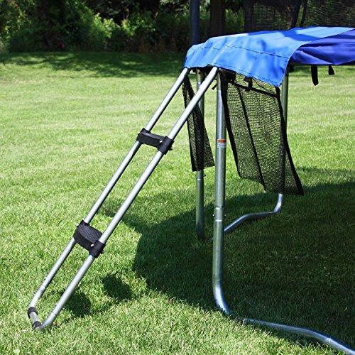 Skywalker Trampolines Wide-Step Ladder Accessory Kit, Blue