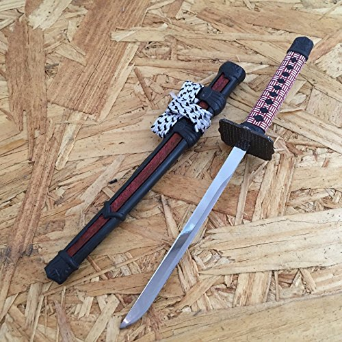 NEW! Red Mini Japanese Samurai Sword Letter