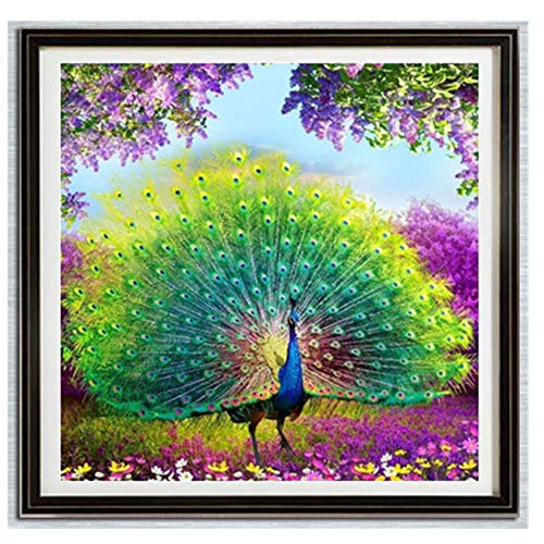XMNDS 5D Embroidery Paintings Rhinestone Pasted DIY Diamond Painting Cross Stitch ()