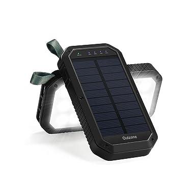 Energía Solar banco universal de 10000 mAh batería externa ...
