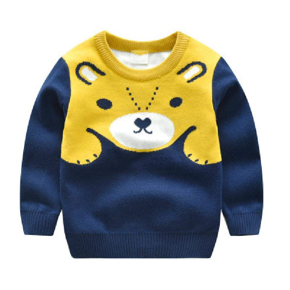 BCVHGD Girls Winter Sweaters Cartoon Bear Baby boy Sweater Spring Autumn Children Pullover Knitted top Kids Sweater