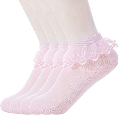 Cute Lace White Ruffle Ankle Socks Baby Girl
