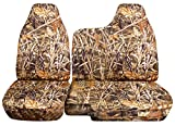 ford ranger seat cover camo - 1998-2003 Ford Ranger/Mazda B-Series Camo Truck Seat Covers (60/40 Split Bench) - No Armrest/Console: Wetland Camouflage (16 Prints) 1999 2000 2001 2002