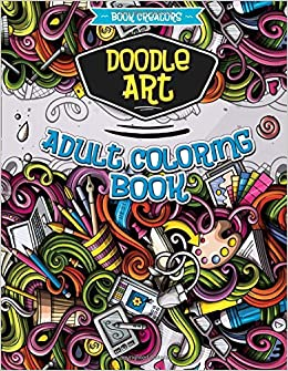 Amazon.com: Doodle Art: Adult Coloring Book with many different ...