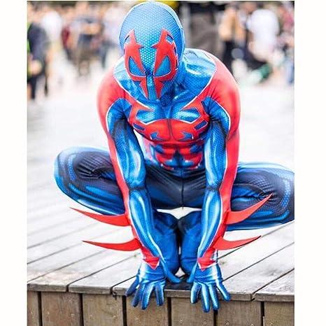Spiderman Traje de Cosplay para Adultos Siameses Medias ...