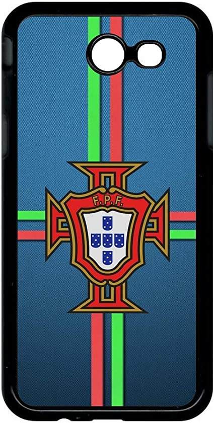 Coque samsung galaxy j3 modele 2017 blason portugal bleu