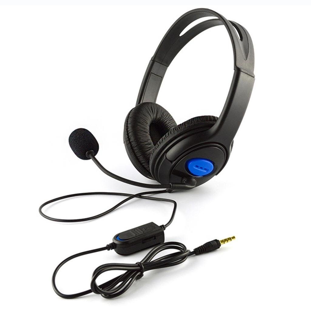 Gaming Headphone, SUKEQ Wired Stereo Gaming Headset Over Ear Noise Cancelling Earphones Earbuds with Microphone for PS4/PC/Laptop/Smartphone