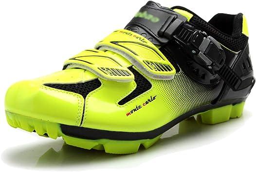MUSTY Zapatillas de Ciclismo, Zapatillas de Ciclismo MTB para ...