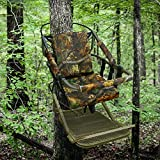 Portable Hunting Tree Stand Climber Deer Bow Game Hunt w/Step-On Platform