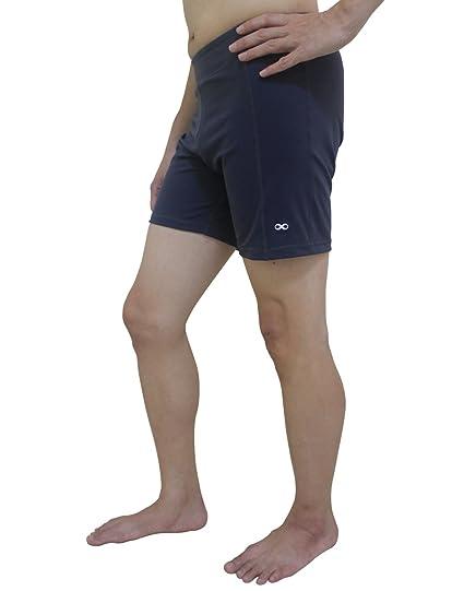 YogaAddict Hombres Yoga elástico Corto Pantalones, Secado rápido, Yoga, Pilates