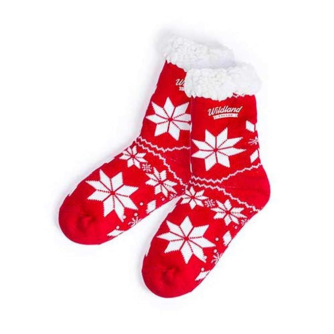 Lote de 10 Pares de Calcetines Navideños de Navidad 120 gr Poliéster Talla Única 36-