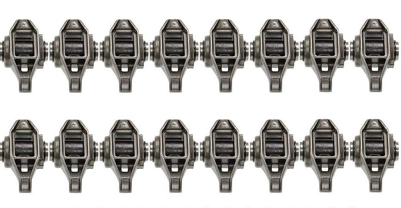 Michigan Motorsports LS1 Rocker Arms with Trunion Kit Installed FITS LS2 LS6 LQ4 LQ9 LY5 LY6 LM7 4.8 5.3 5.7 6.0 Bolts Not Included