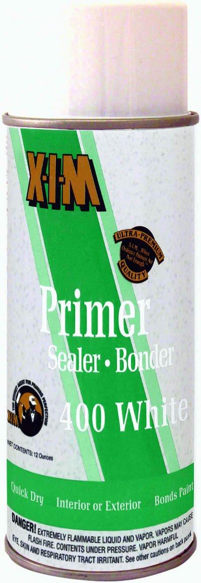 XIM 11025 Primer Sealer Bonder, 12-Ounce, White