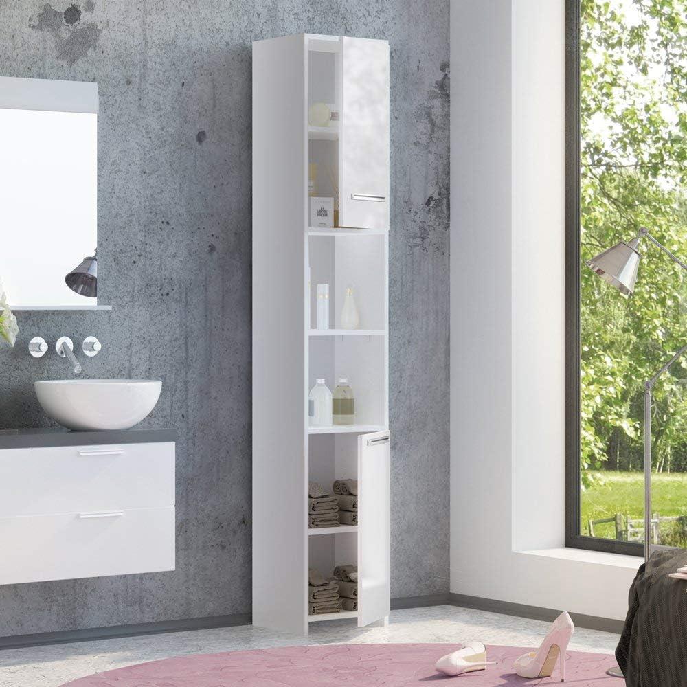 VICCO armario de baño KIKO armario de baño blanco brillante ...