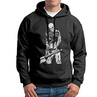 Watch Dogs 2 Dedsec Skeleton Black Mens Pullover Shirts At Amazon