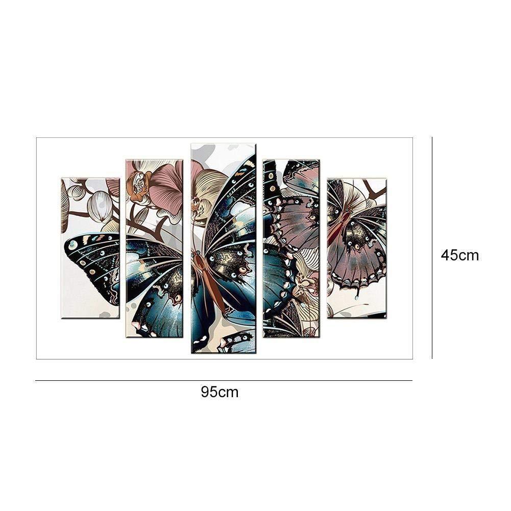 BaZhaHei DIY 5D Kit de pintura de diamante de taladro completo Rhinestone de cristal bordado imágenes de punto de cruz artes manualidades para decoración de ...