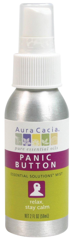 Aura Cacia Essential Solutions Mist, Panic Button, 2 Fluid Ounce Frontier COOP - HPC 118658