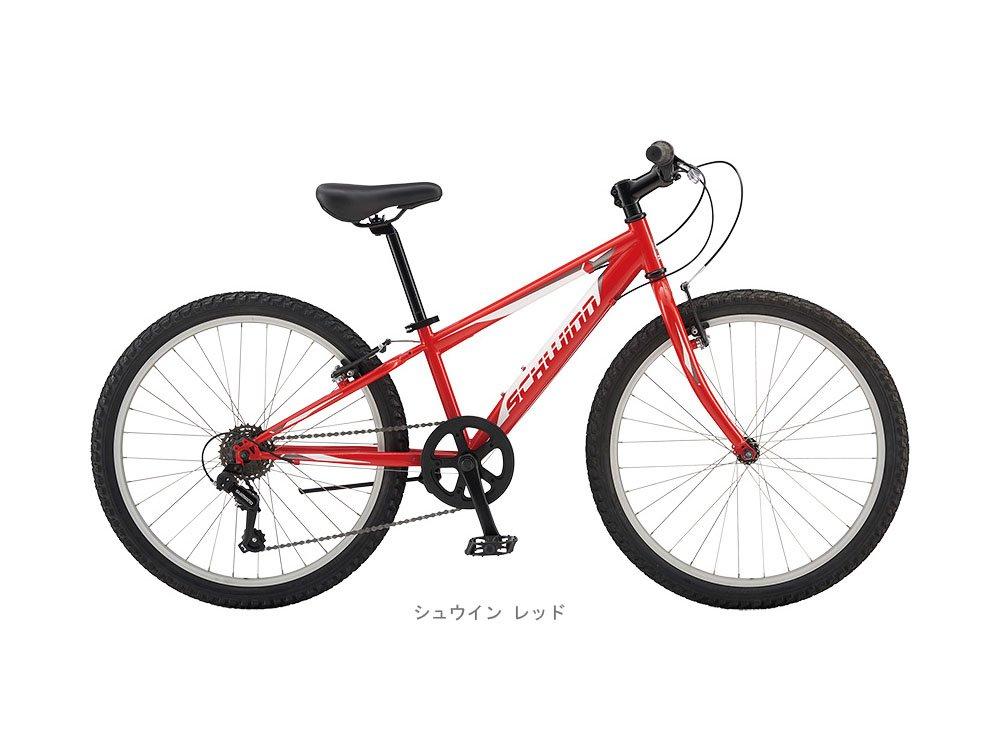 シュウィン(SCHWINN) 子供用自転車 SCW FRONTIER 24 シュウイン レッド 2018 B01M6ZRPYB