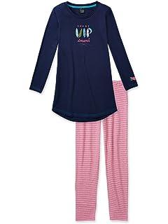 fb979a002e Schiesser SCHIESSER, Mädchen Schlafanzug lang, Pyjama, NICI ...