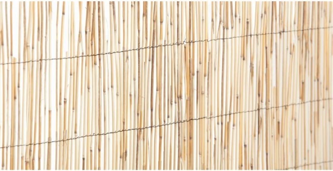 Jardin202 Rollo: 1 x 5 Metros - Cerramiento Natural Bambú Fino de ocultación: Amazon.es: Jardín