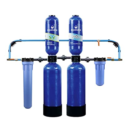 aquasana 10-year, 1, 000, 000 gallon whole house water filter with ...