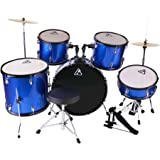 22inch 5 Piece Adults Drum Set, Les Ailes de la Voix Complete Full Size Adults