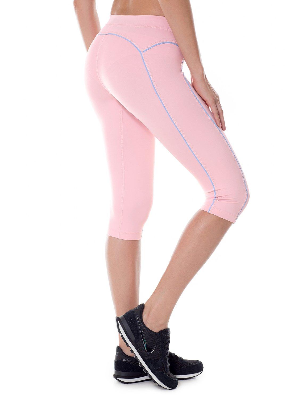 SYROKAN - Mallas Deportivas Cortas Para Mujer (corte de 3/4) product image