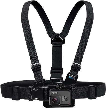 GoPro Jr. Chesty - Pack de Accesorios para cámaras Digitales GoPro Hero, Negro: GOPRO: Amazon.es: Deportes y aire libre