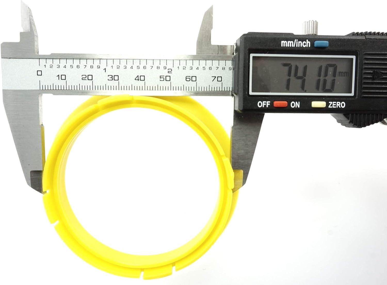 1x Zentrierring 74,1-65,1//74,1 auf 65,1 kompatibel mit mit Opel Citro/ën Proline DBV