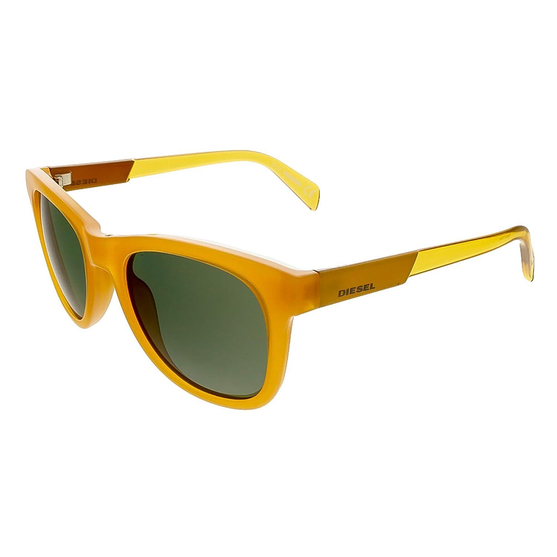 Diesel DL0135/S 41N Amber Wayfarer Sunglasses