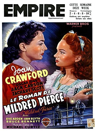 Mildred Pierce Poster - Mildred Pierce From Left Joan Crawford Ann Blyth 1945 Movie Poster Masterprint (11 x 17)