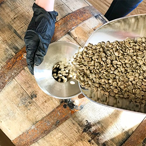 Rye Whiskey Barrel Aged Coffee – Whole Bean Coffee, Costa Rica Single Origin Whole Bean Coffee Aged in Rye Whiskey…