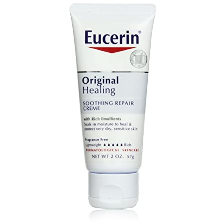 Eucerin Original Healing Rich Creme 2 oz Pack of 9