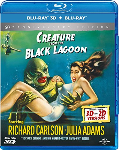 Creature From the Black Lagoon - 60th Anniversary Edition [Blu-ray 3D + Blu-ray] [1954]