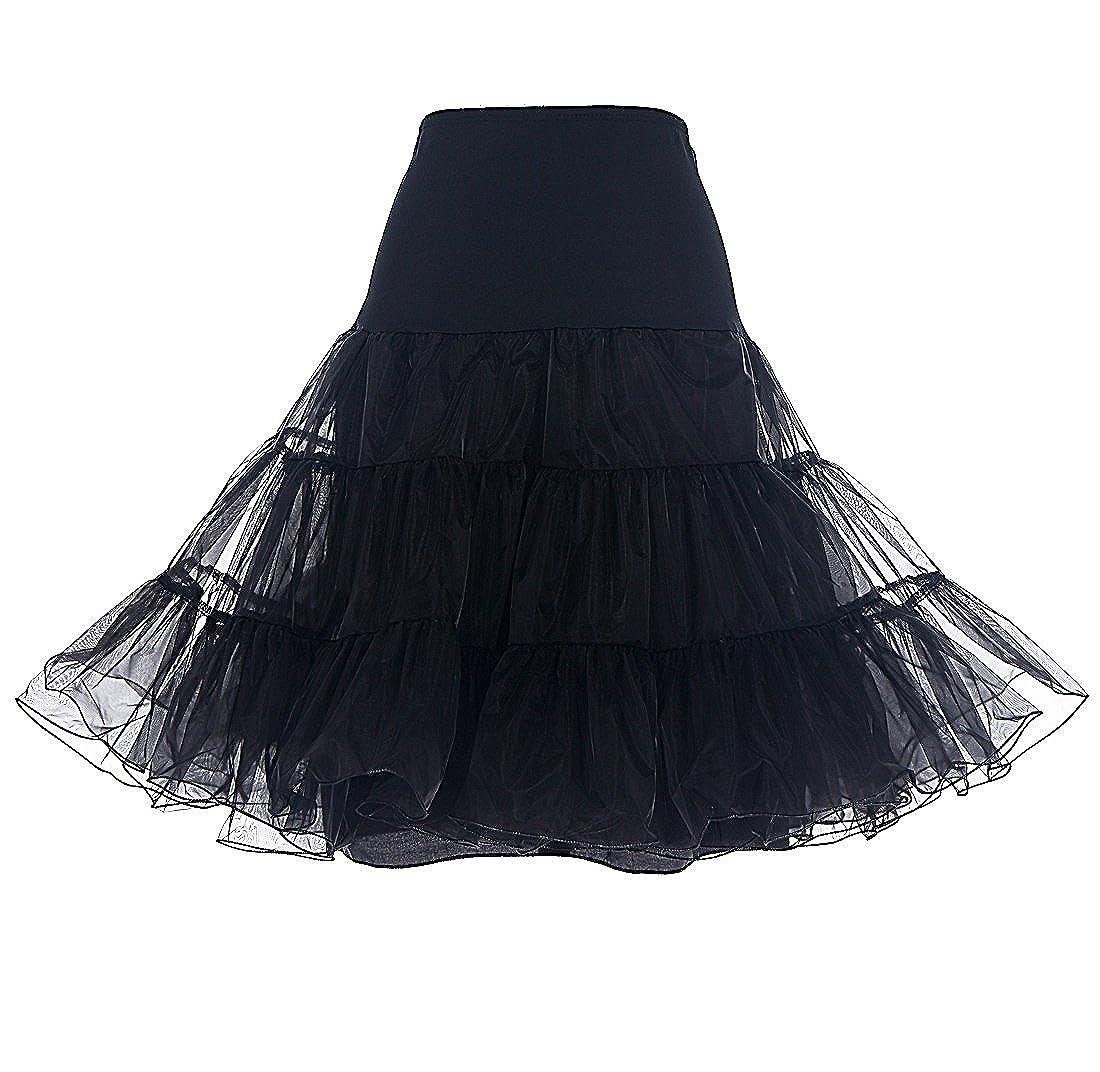 Dresstells Womens Vintage Rockabilly Petticoat Skirt Tutu 1950s Underskirt: Amazon.co.uk: Clothing