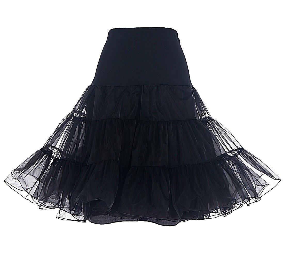 a013e93ab Dresstells Mujeres Cancan 50s Retro Rockabilly Enaguas Miriñaques Faldas