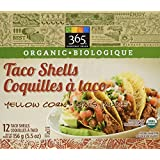365 Everyday Value Organic Taco Shells Yellow Corn, 5.5 oz