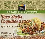 365 Everyday Value Organic Taco Shells Yellow Corn, 5.5 oz
