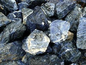 sodalite rock rough for tumbling polishing